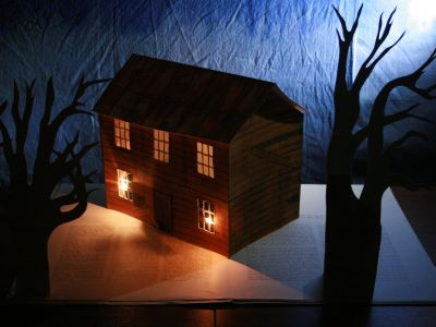 Inside the Walls, A Giant Popup Book Ghost Story