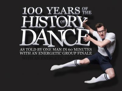 100 Years Of The History Of Dance As Told By One Man In 60 Minutes With An Energetic Group Finale